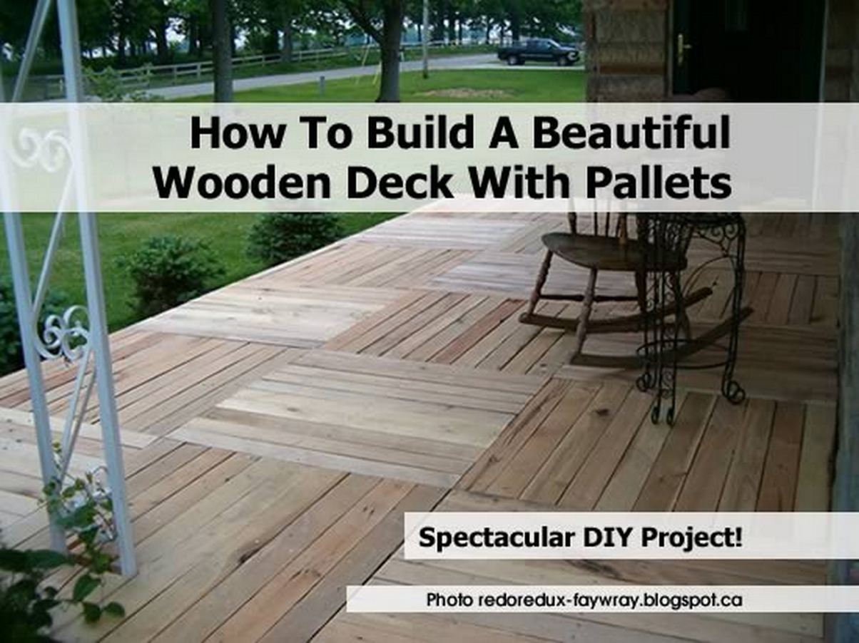 build a wooden deck video search engine at