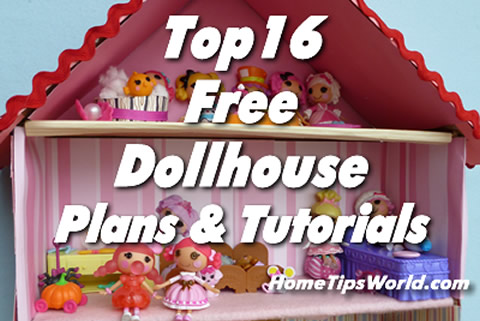 Simple Dollhouse Plans Free