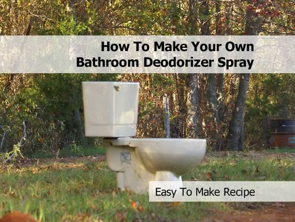 How To Make Your Own Bathroom Deodorizer Spray