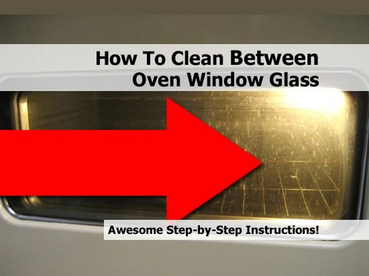 how to clean between oven window glass. Black Bedroom Furniture Sets. Home Design Ideas