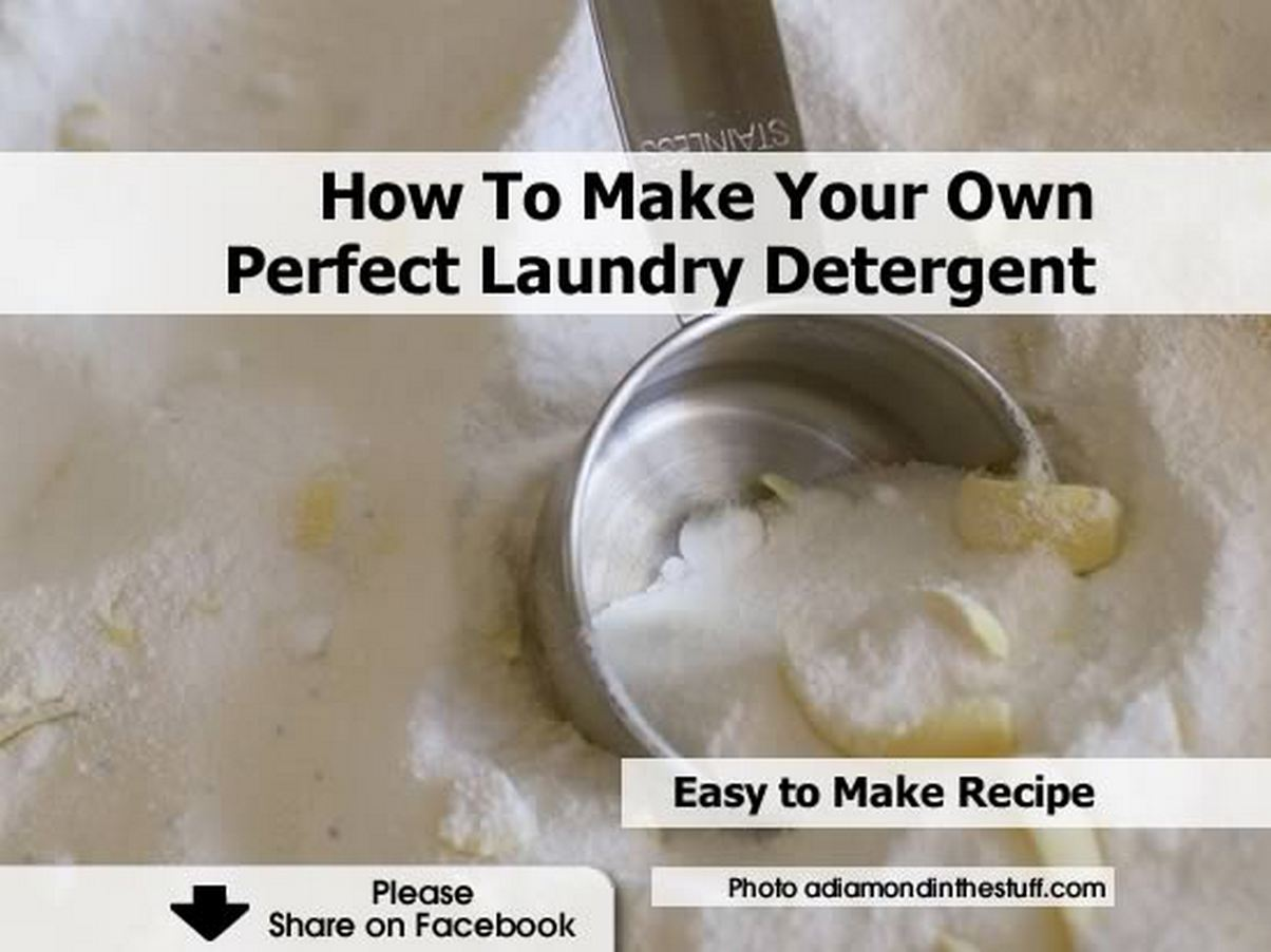 How To Make Your Own Perfect Laundry Detergent