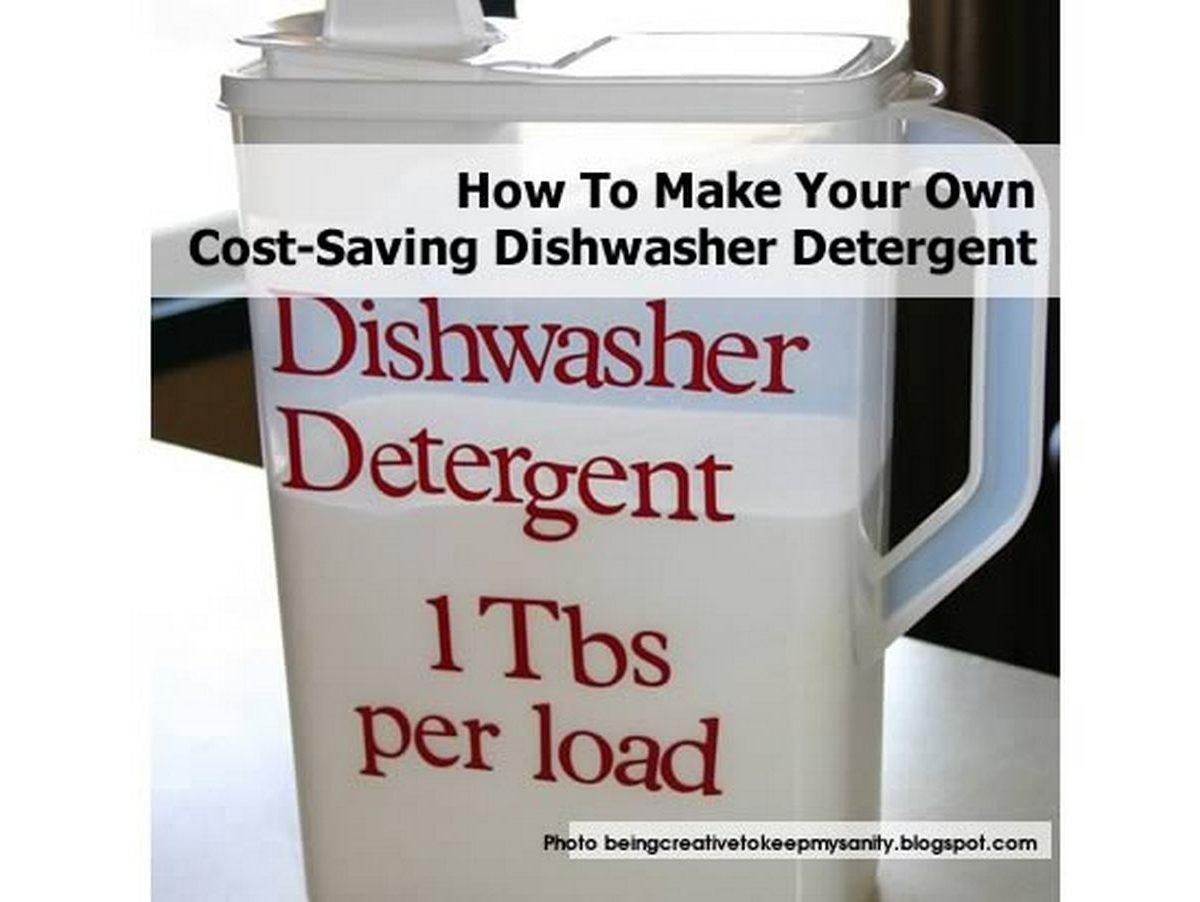 How to make dishwasher tablets
