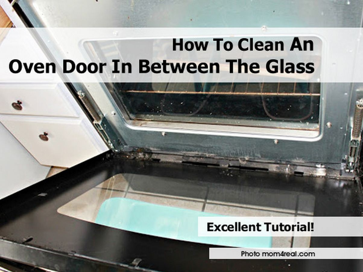 Oven Cleaning Clean Oven Door