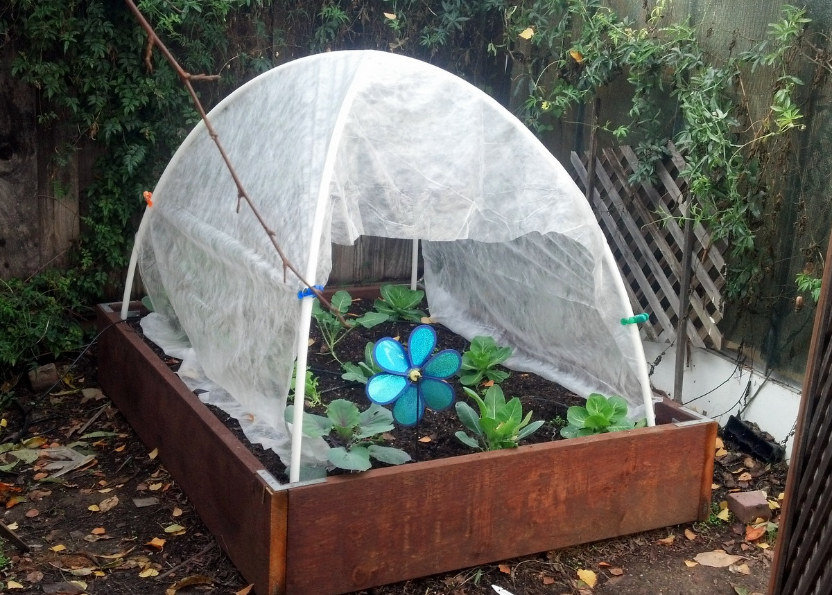How To Build A Sturdy Mini Garden Greenhouse