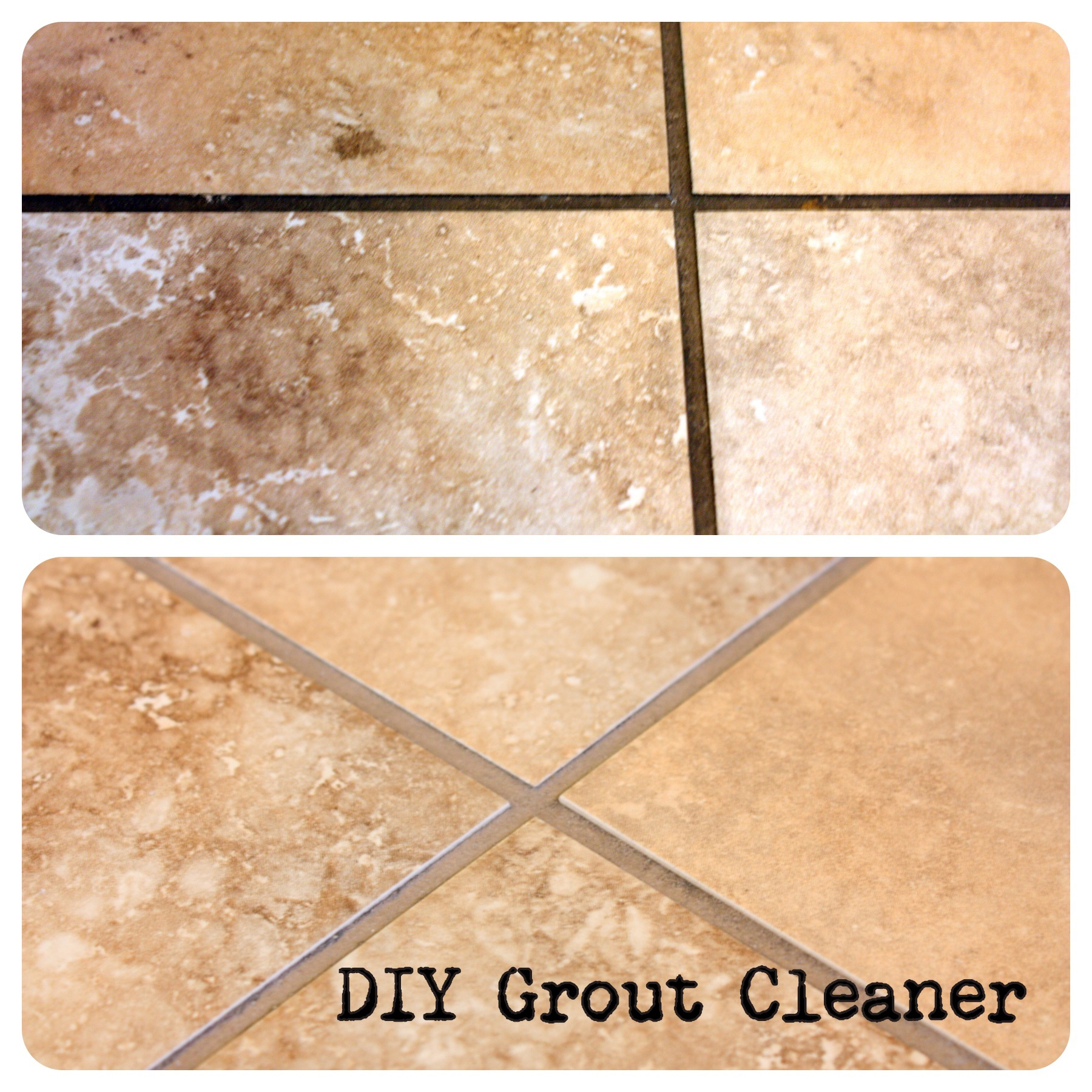 how to make a simple grout cleaner. Black Bedroom Furniture Sets. Home Design Ideas