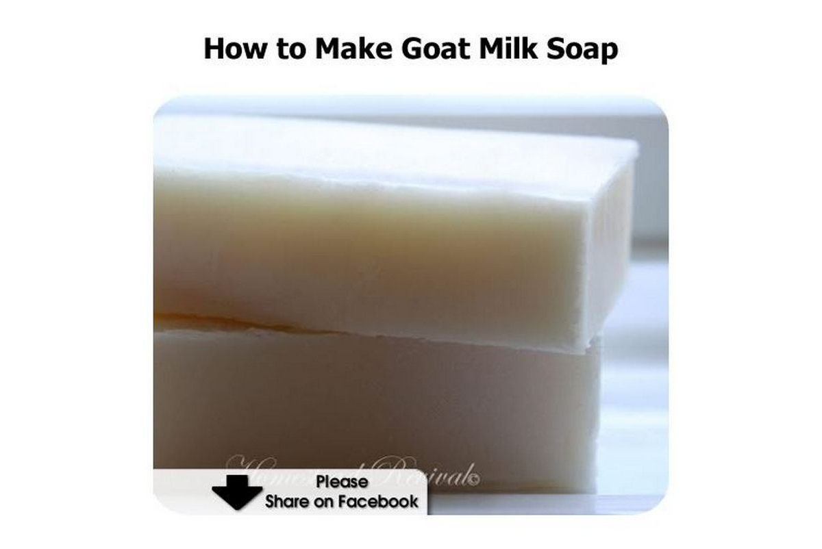 Image Result For How To Make Goat Milk Soap Steps With Pictures