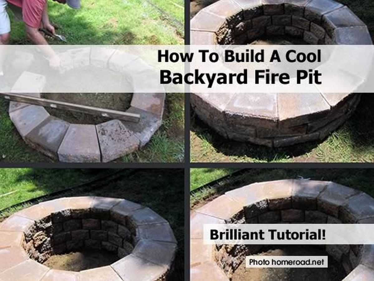 how to build a cool backyard fire pit. Black Bedroom Furniture Sets. Home Design Ideas