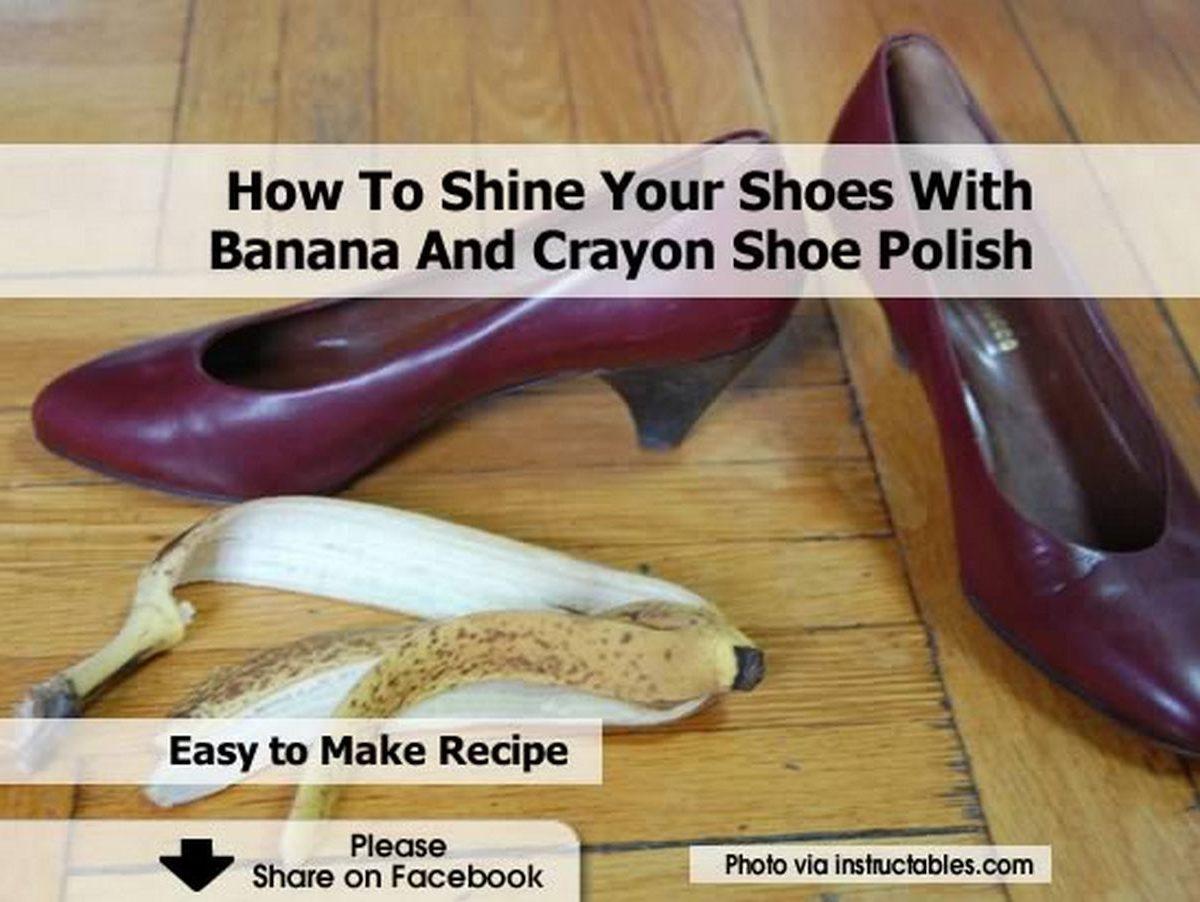 banana shoe polish The feasibility of producing shoe polisher out of banana peelings abstract-shoe polish (or boot polish) -is it possible that the peelings of banana can be made as shoe polish hypothesis.