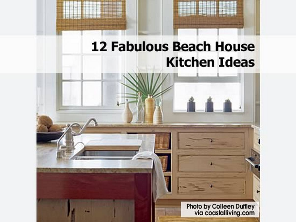 12 fabulous beach house kitchen ideas for Beach house kitchen plans