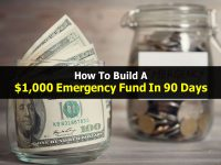 How To Build A $1,000 Emergency Fund In 90 Days