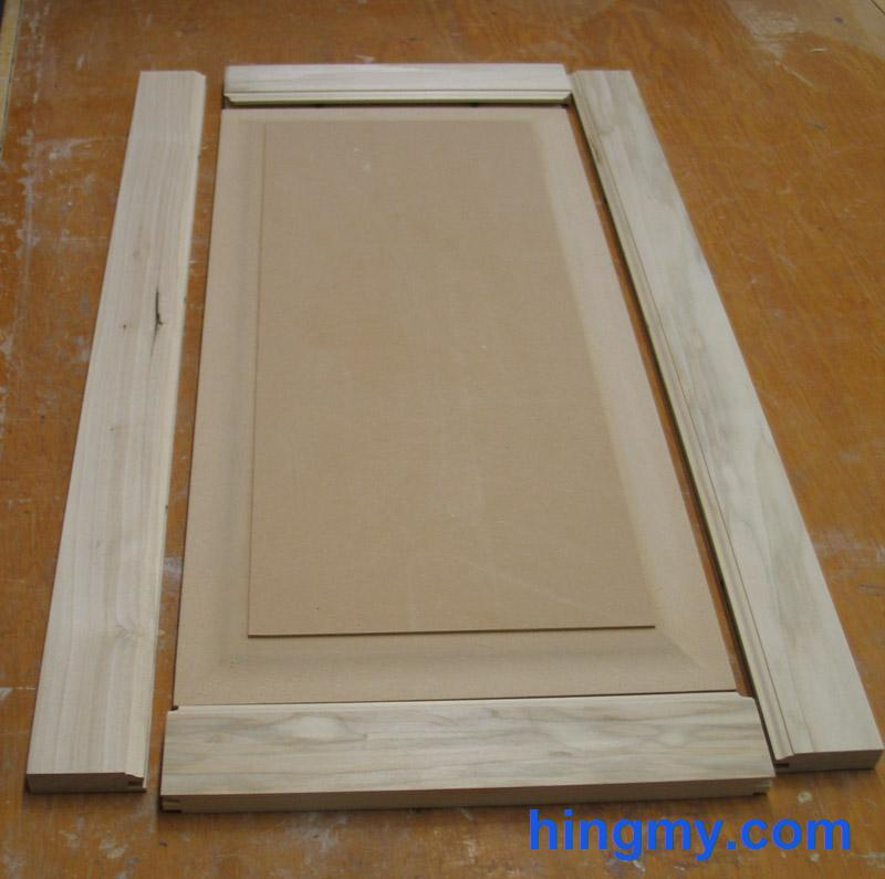 how to build plain cabinet doors