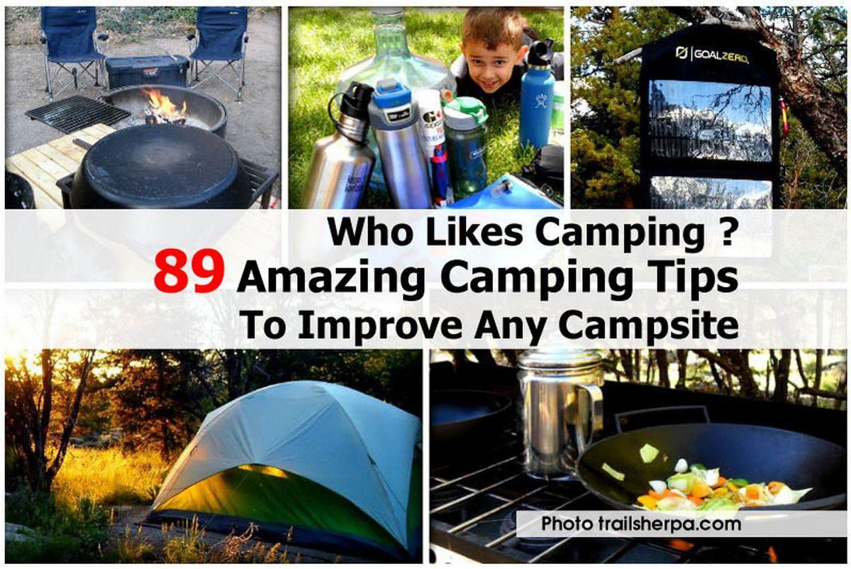 Who Likes Camping ?