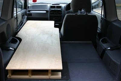 how to build a car bed
