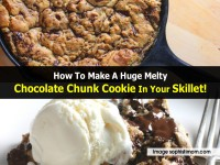 How To Make A Huge Melty Chocolate Chunk Cookie In Your Skillet!