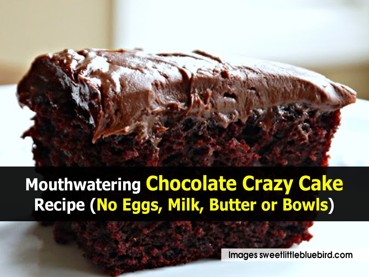 Simple Chocolate Cake Recipe Without Butter