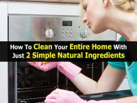 How To Clean Your Entire Home With Just 2 Simple Natural Ingredients