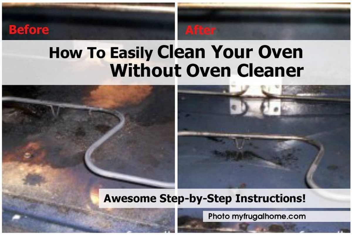 How To Easily Clean Your Oven Without Oven Cleaner