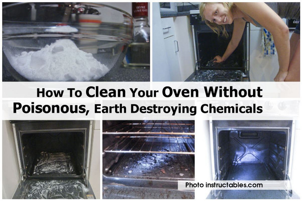 how to clean your oven without poisonous earth destroying