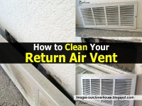 How to Clean Your Return Air Vent