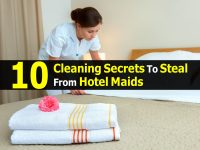 10 Cleaning Secrets To Steal From Hotel Maids