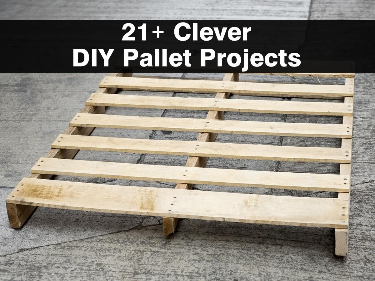 21 clever diy pallet projects click for details wooden pallet projects ...