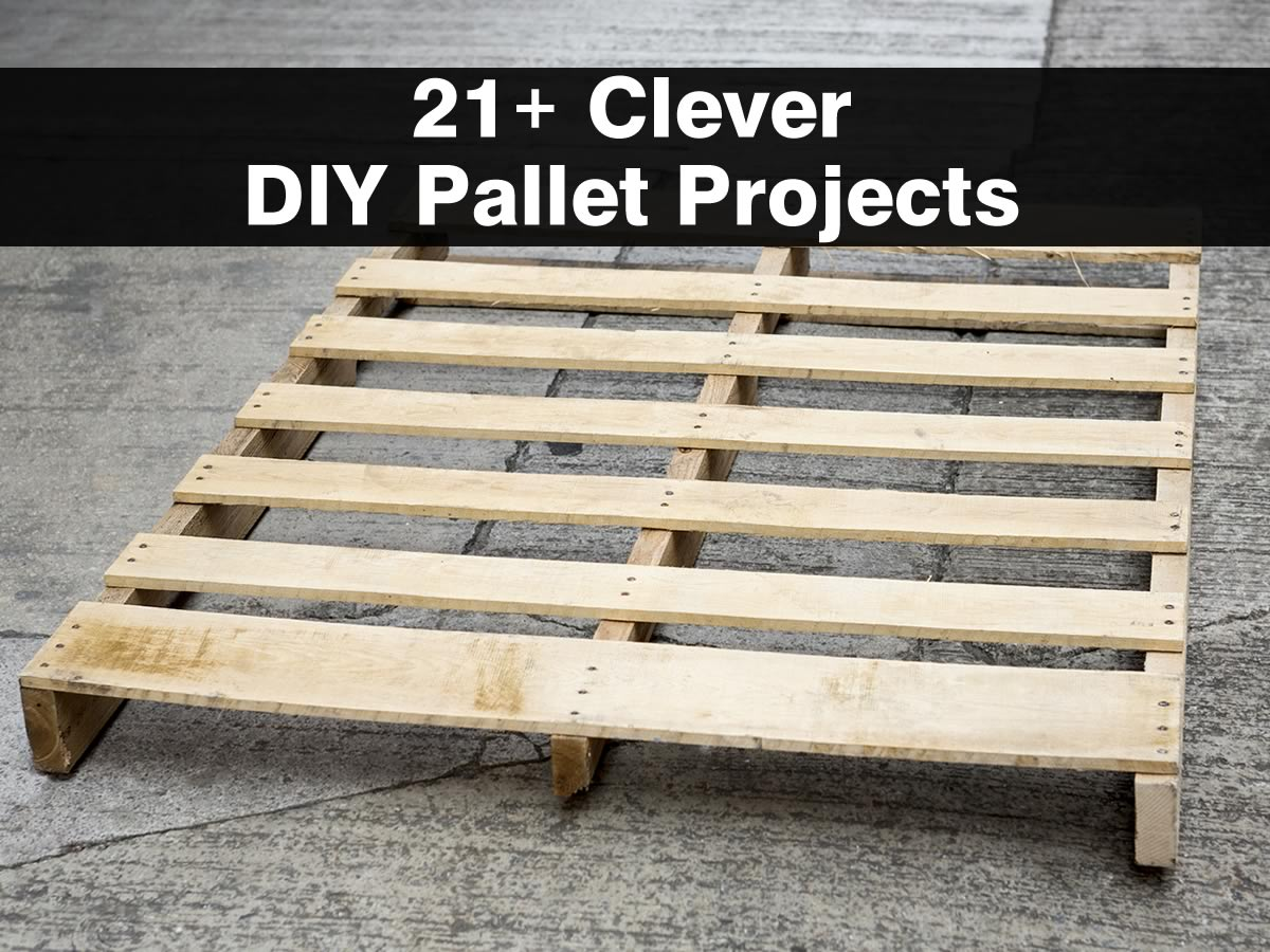 21 clever diy pallet projects for Pallet ideas