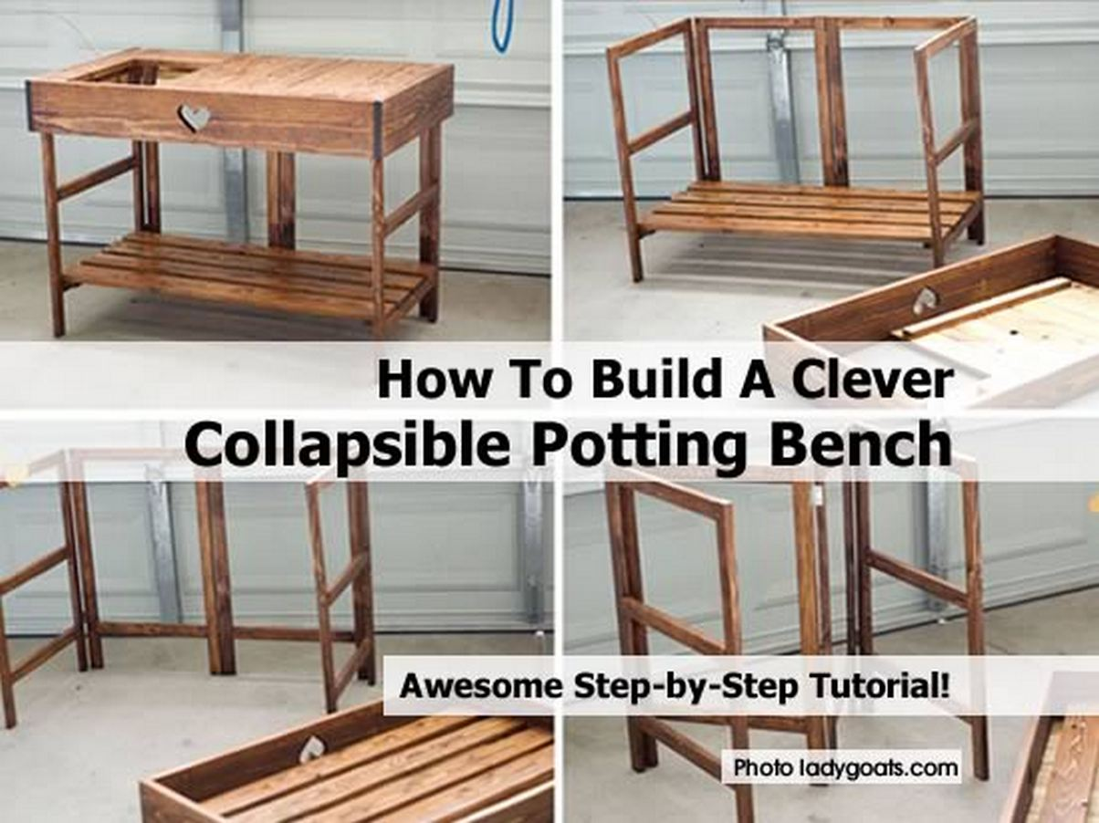 How To Build A Clever Collapsible Potting Bench