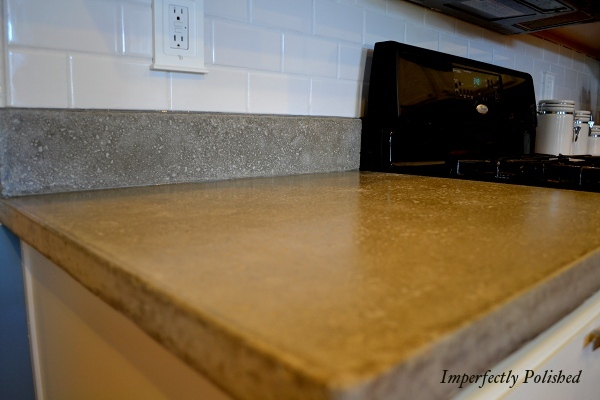 How to make concrete kitchen countertops for Make your own cement