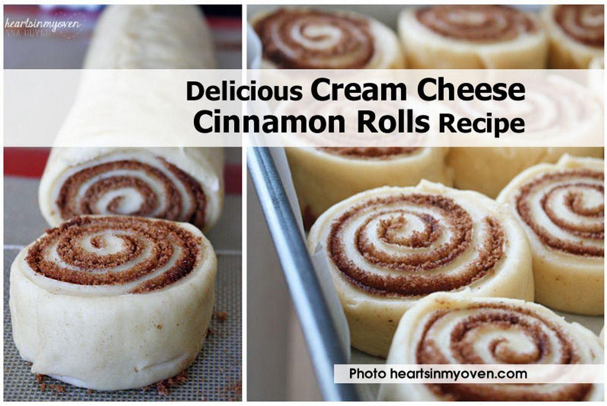 Delicious Cream Cheese Cinnamon Rolls Recipe