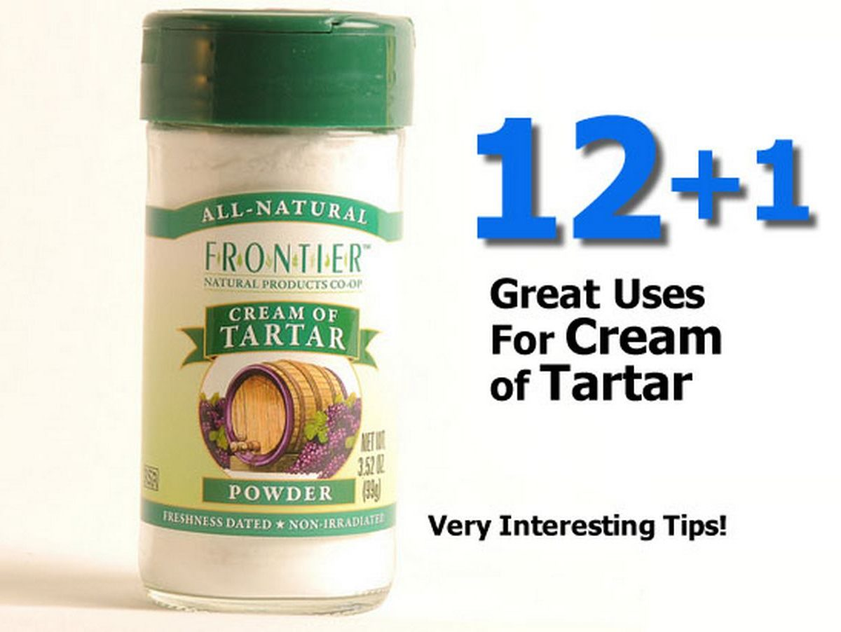 12+1 Great Uses For Cream of Tartar
