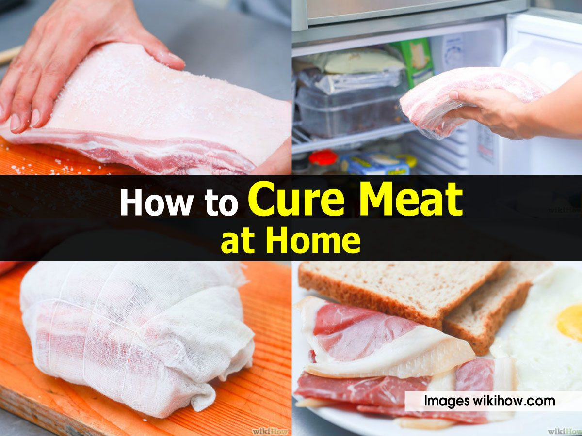how to make cured meats at home