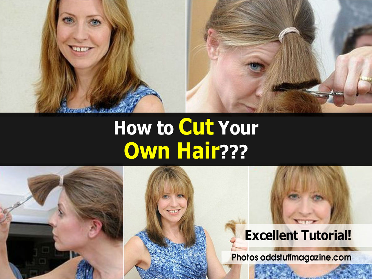 How To Hair Cut : How To Cut Your Own Hair Cutting Long Layers Into Long Hair For A Bea ...