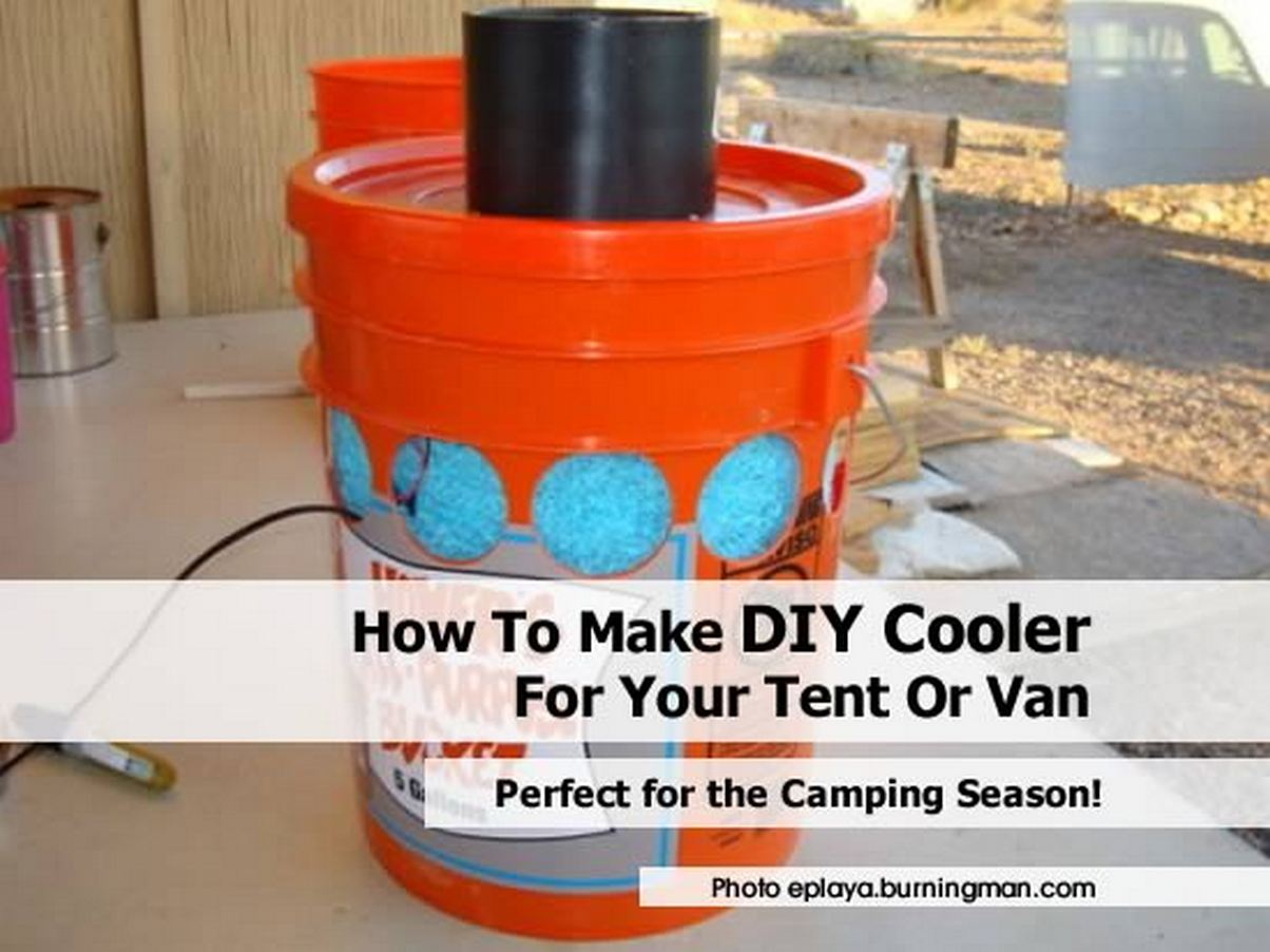 Build Your Own Evaporative Cooler : How to make diy cooler for your tent or van