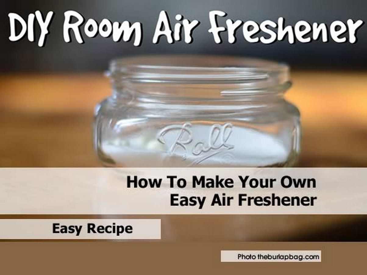 how to make your own easy air freshener