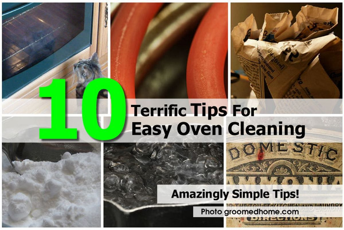 10 terrific tips for easy oven cleaning - Home secrets brief cleaning guide ...