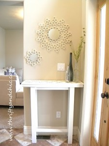 How to Make an Elegant Entrance Hall Table