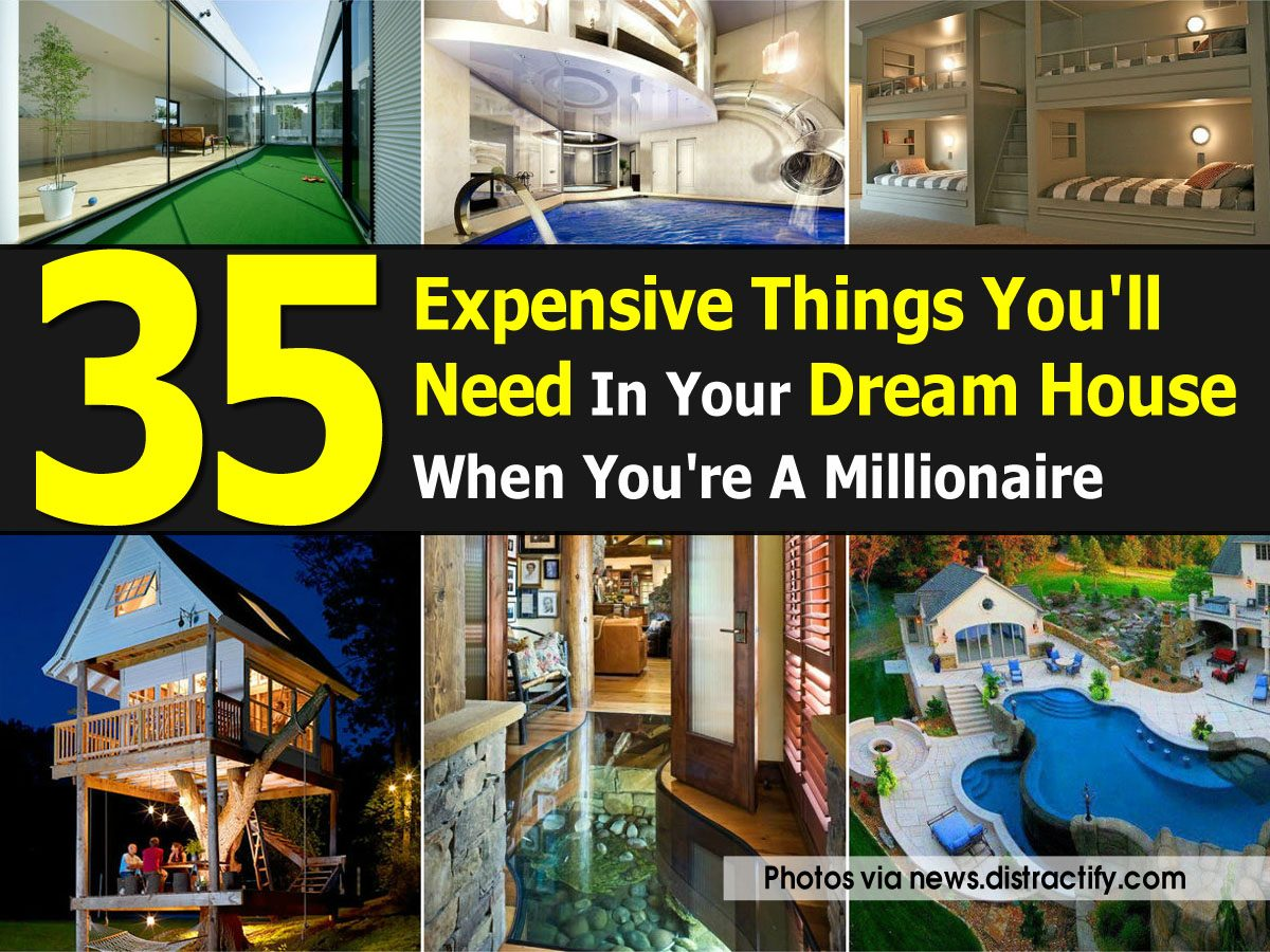35 expensive things you 39 ll need in your dream house when for Things you need for a home