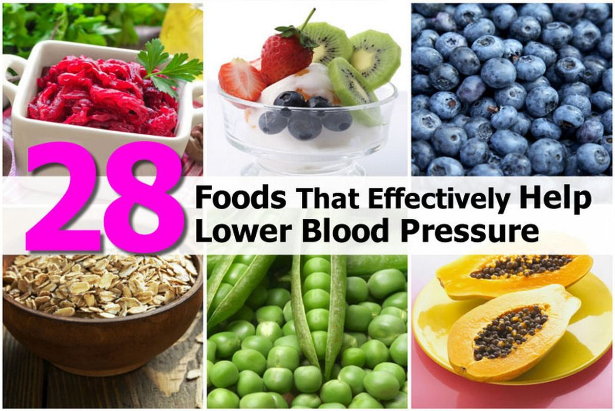 Foods To Eat Lower High Blood Pressure