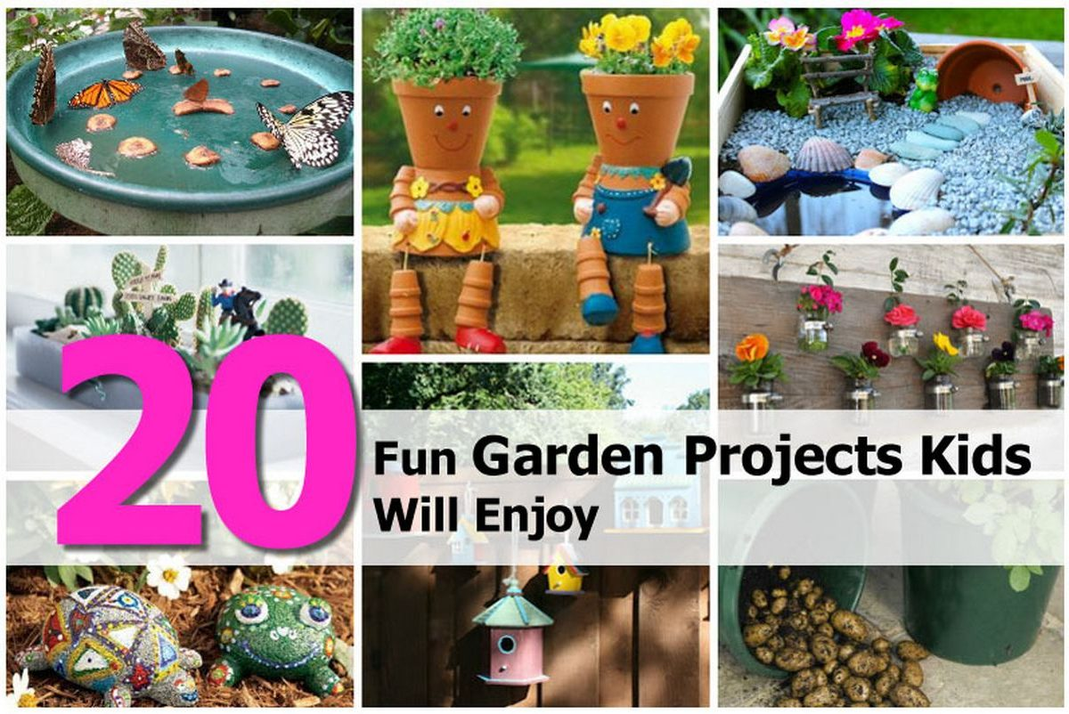 20 fun garden projects kids will enjoy for Garden designs for kids