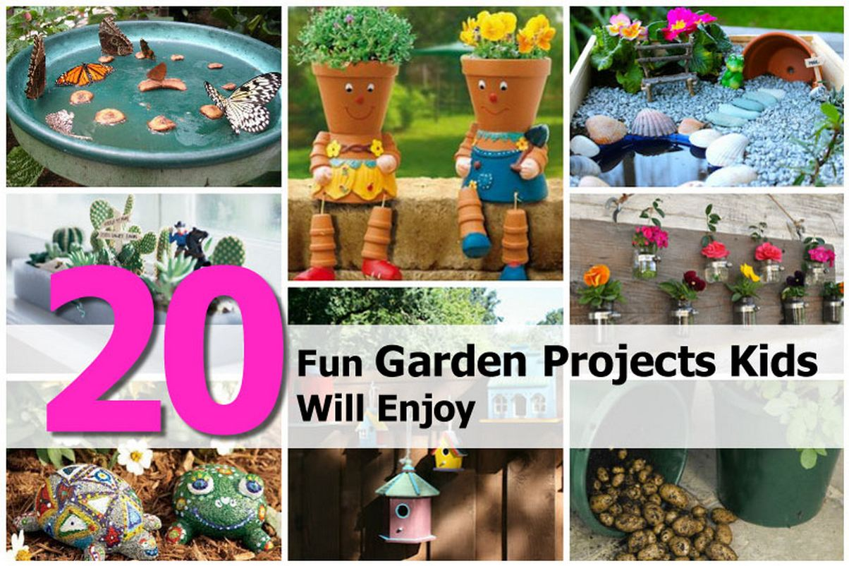 Fun garden ideas for kids photograph 20 fun garden project for Garden designs for kids