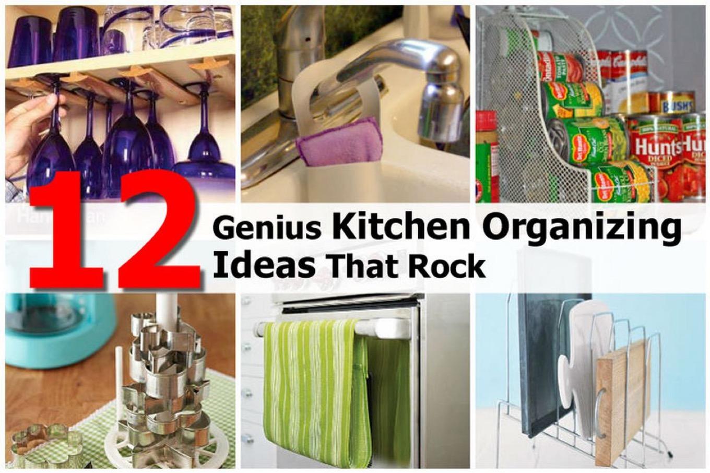 12 genius kitchen organizing ideas that rock - Kitchen organizing ideas ...