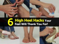 6 High Heel Hacks Your Feet Will Thank You For!