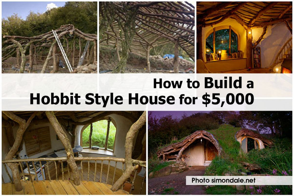 How to build a hobbit style house for 5 000 for Building a house
