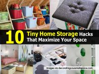 10 Tiny Home Storage Hacks That Maximize Your Space