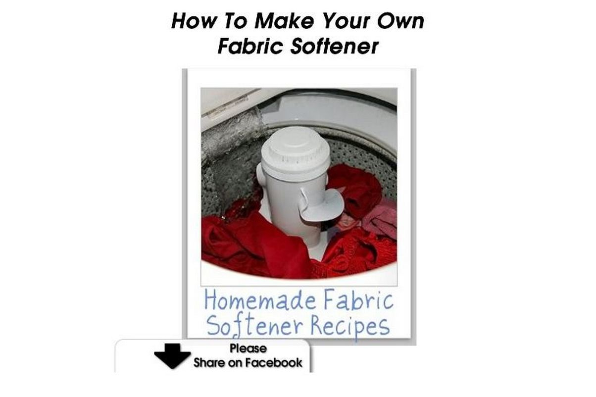 How to make your own fabric softener - How to make your own fabric softener ...