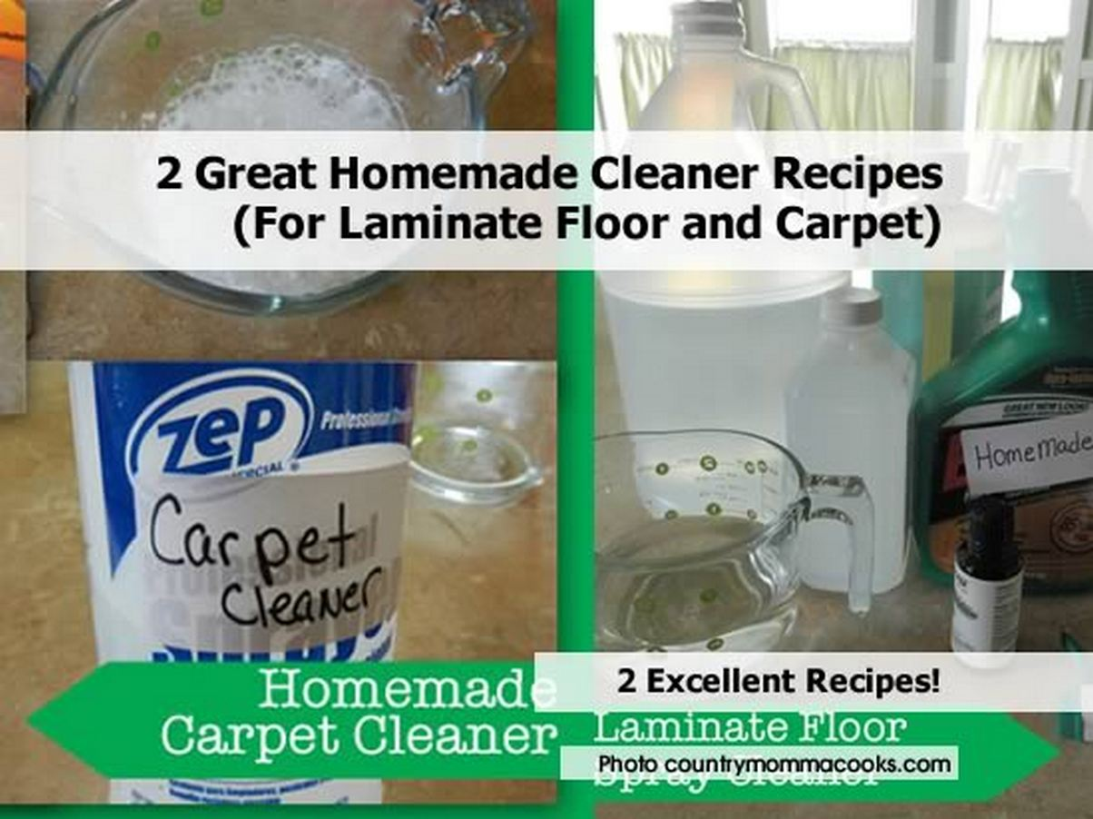 2 great homemade cleaner recipes for laminate floor and - Make laminate floor cleaner ...