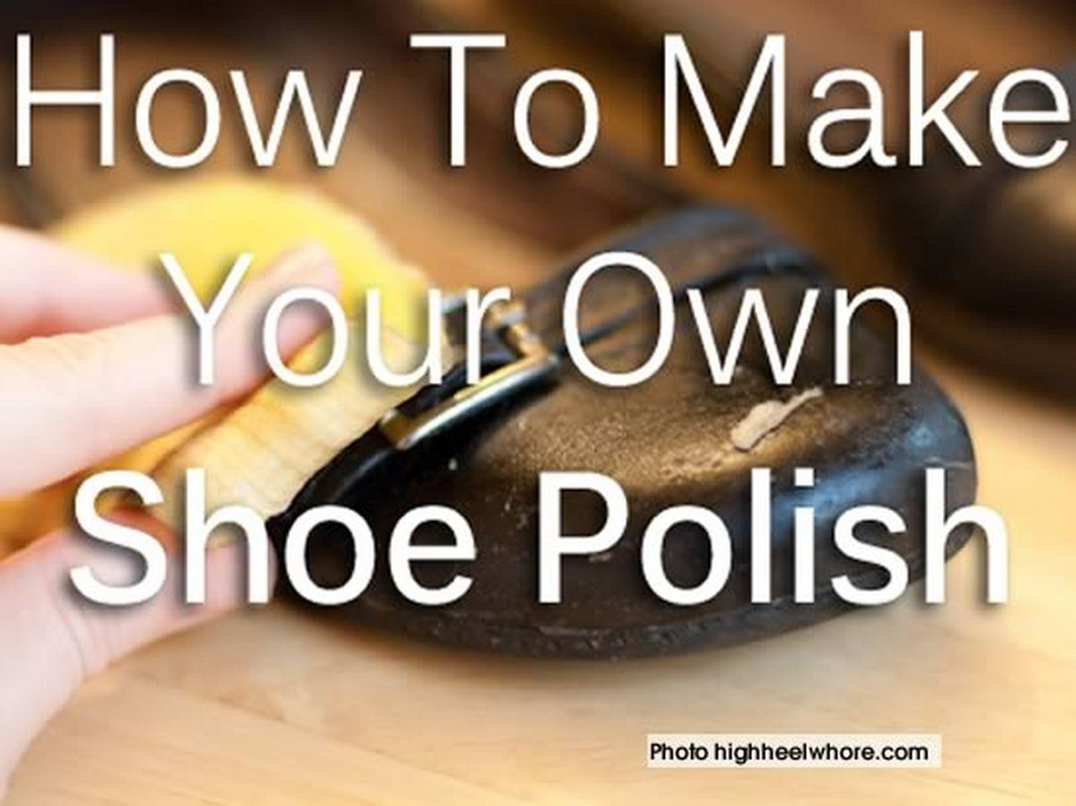 How To Make Your Own Homemade Shoe Polish