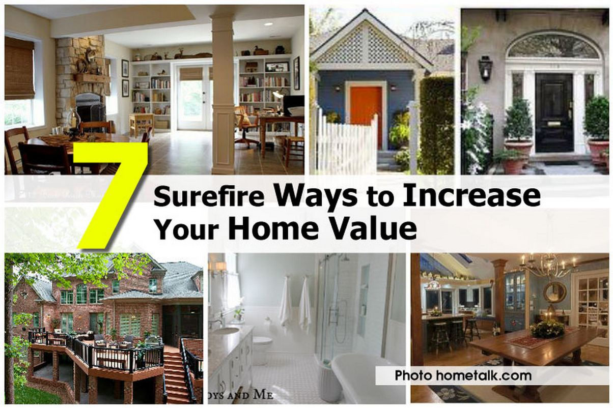 Home Value Things That Increase Your Home Value