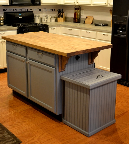 how to build a nice trash can cover. Black Bedroom Furniture Sets. Home Design Ideas
