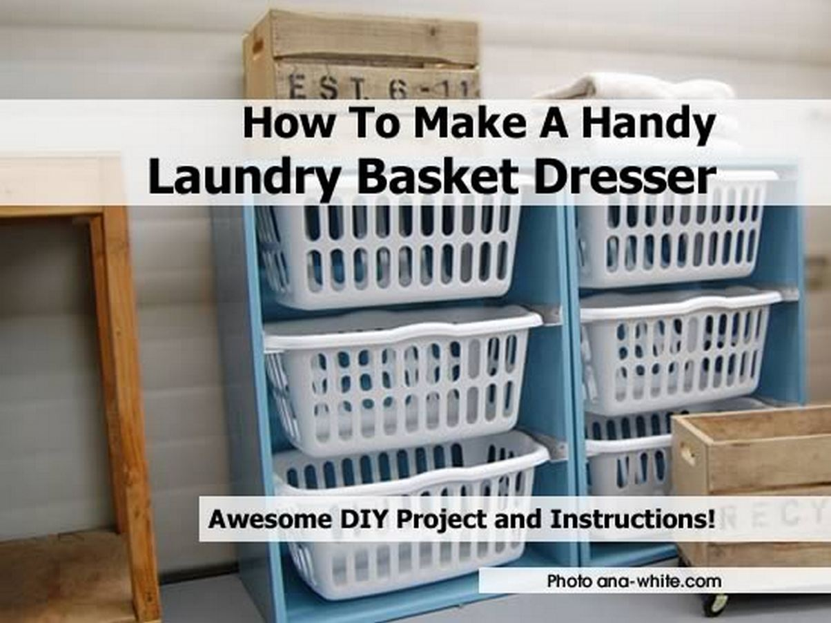 Clothes Basket Dresser Laundry Basket Dresser